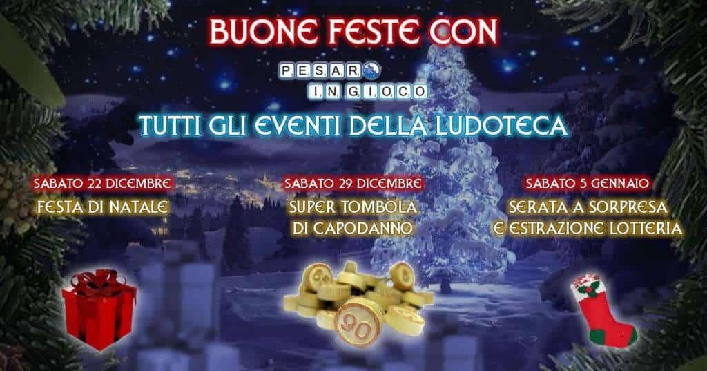 Gli Eventi delle Feste in Ludoteca!